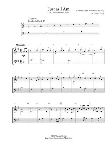 Just as I Am - for 2-octave handbell choir