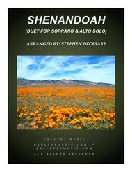 Shenandoah (Duet for Soprano and Alto Solo)