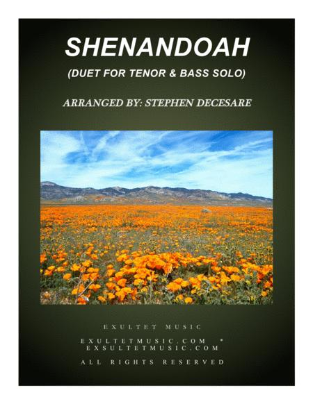 Shenandoah (Duet for Tenor and Bass Solo)