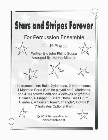 Stars and Stripes Forever for Percussion Ensemble