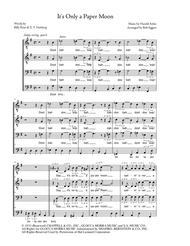 It's Only A Paper Moon - TTBB a cappella