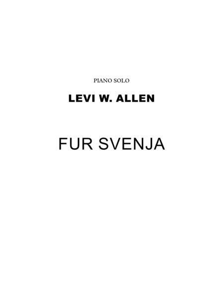 Fur Svenja - Piano Solo
