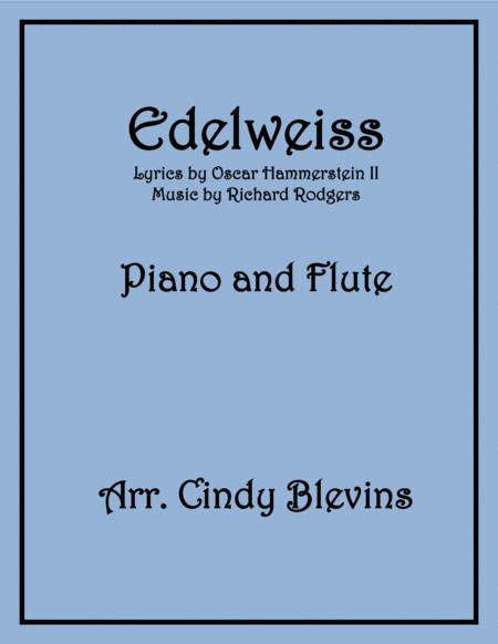 Edelweiss, arranged for Piano and Flute