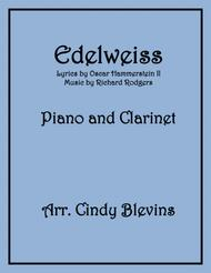Edelweiss, arranged for Piano and Bb Clarinet