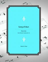 Song of Idun - original piano solo