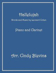 Hallelujah, arranged for Piano and Bb Clarinet