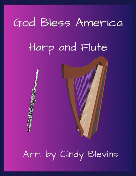God Bless America, arranged for Harp and Flute