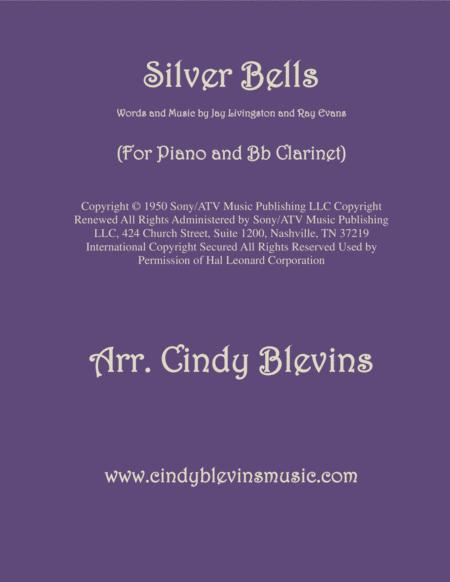 Silver Bells, arranged for Piano and Bb Clarinet