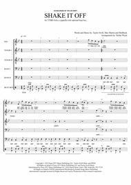 Shake It Off - for TTBB+Solo a cappella