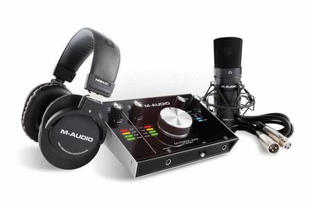 M-Track 2x2 Vocal Studio Pro Bundle