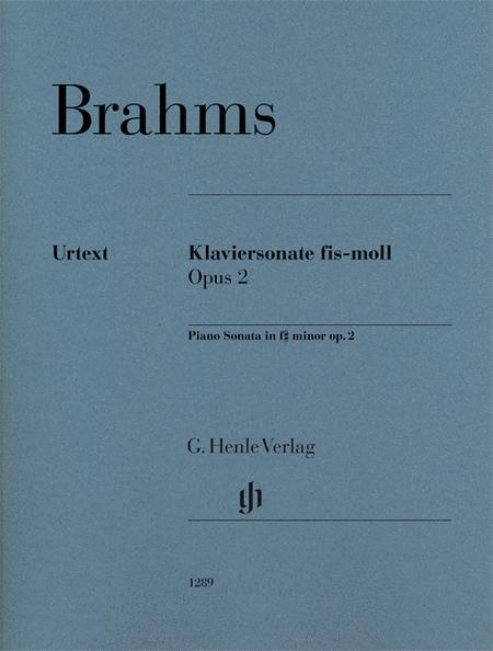 Piano Sonata in F-Sharp Minor, Op. 2