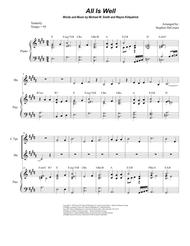 All Is Well (Duet for C-Trumpet and French Horn)