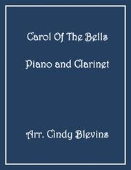 Carol of the Bells, arranged for Piano and Bb Clarinet