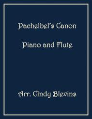 Pachelbel's Canon in D (in G), arranged for Piano and Flute