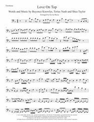 Love On Top - Trombone