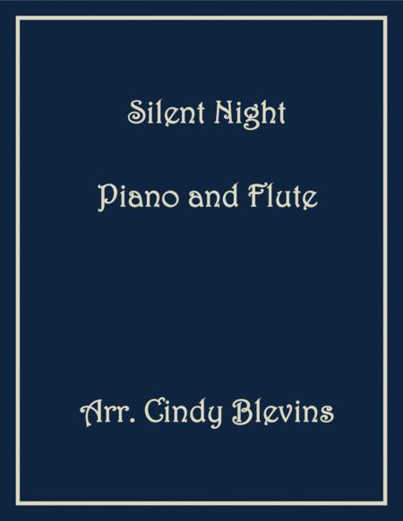 Silent Night, arranged for Piano and Flute