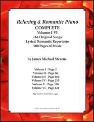 Relaxing & Romantic Piano COMPLETE - Volumes I - VI