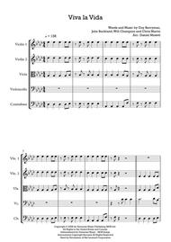 Viva La Vida - String Quintet