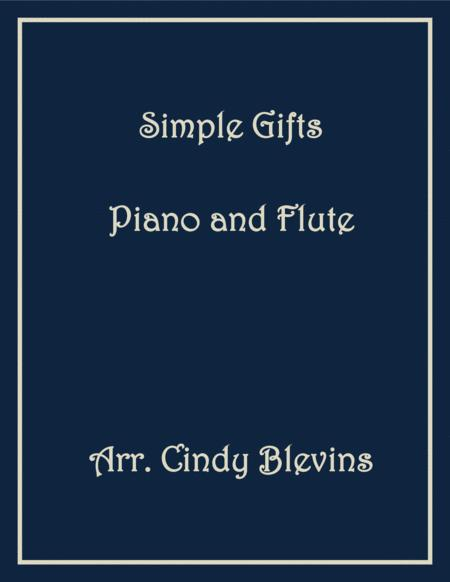 Simple Gifts, arranged for Piano and Flute