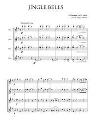 Jingle Bells for Flute Quartet