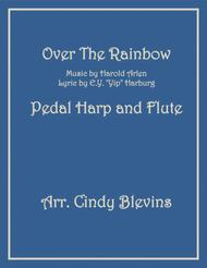 Over The Rainbow (from The Wizard Of Oz), arranged for Pedal Harp and Flute