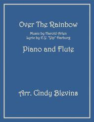 Over The Rainbow (from The Wizard Of Oz), arranged for Piano and Flute