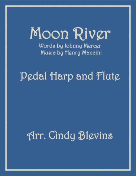 Moon River, arranged for Pedal Harp and Flute