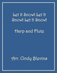Let It Snow! Let It Snow! Let It Snow!, arranged for Harp and Flute
