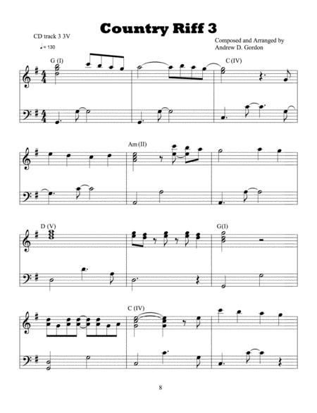 Country/Pop Piano Lesson 3
