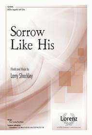 Sorrow Like His