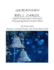 Ukrainian Bell Carol for Flute Choir