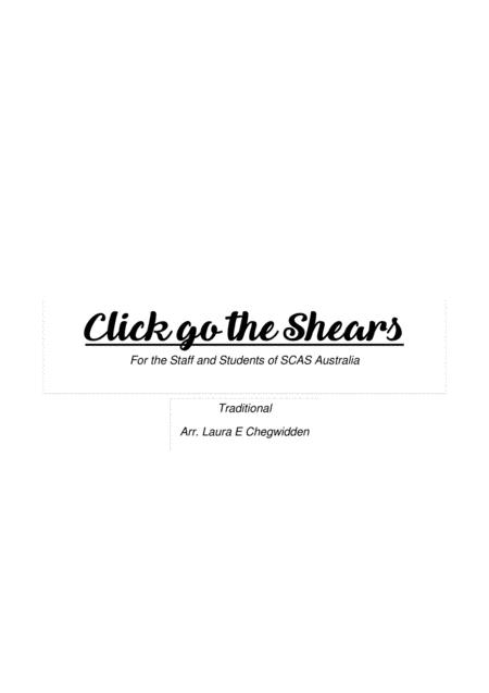 Click go the Shears for Beginner String Orchestra