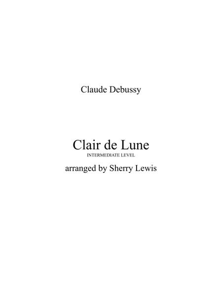 Clair de Lune for STRING QUARTET