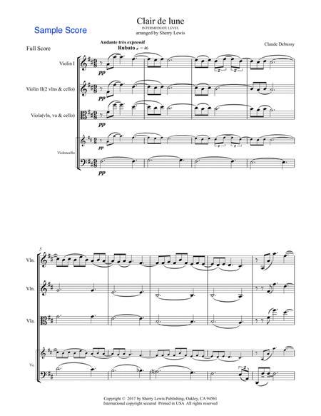 Clair de Lune STRING TRIO