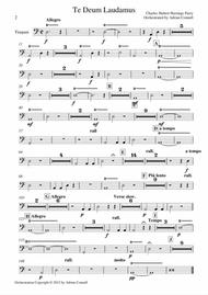 Parry - Te Deum Orchestrated by Adrian Connell - Timpani