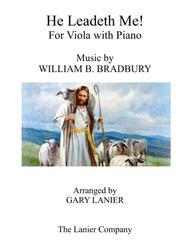 HE LEADETH ME (Duet – Viola & Piano with Score/Part)