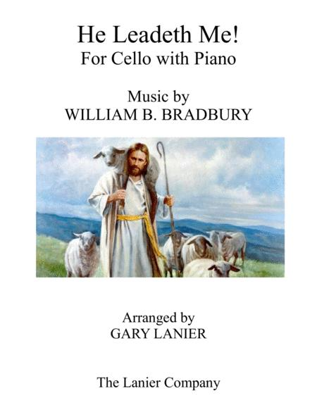 HE LEADETH ME (Duet – Cello & Piano with Score/Part)