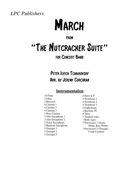March From The Nutcracker Suite for Concert Band