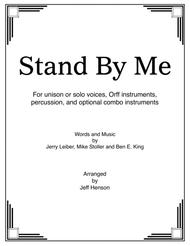 Stand By Me for Unison Voices and Instruments