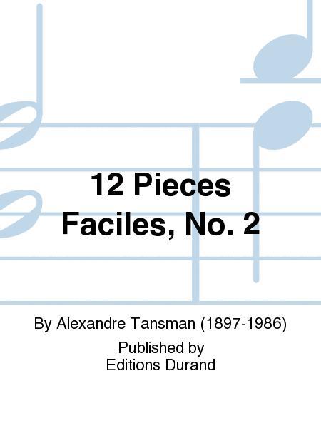 Douze pieces faciles (12) vol. 2