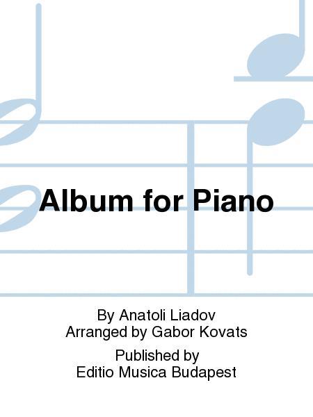 Album fur Klavier