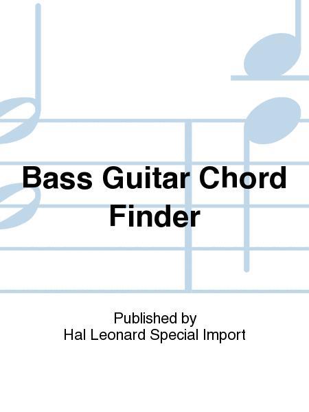 Bass Guitar Chord Finder Sheet Music - Sheet Music Plus
