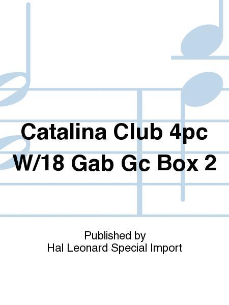 Catalina Club 4pc W/18 Gab Gc Box 2