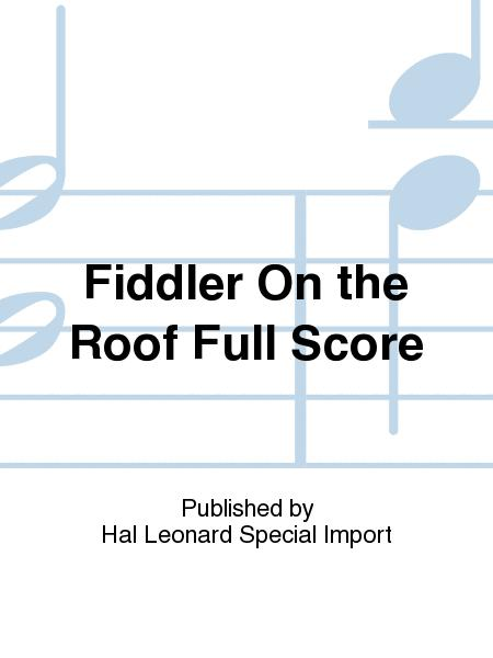 Fiddler On The Roof Full Score By Sheet Music For Buy