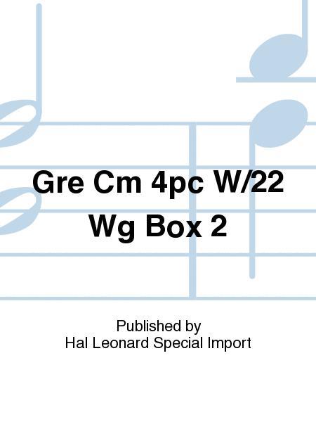 Gre Cm 4pc W/22 Wg Box 2