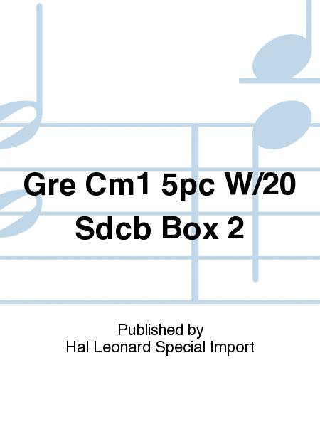 Gre Cm1 5pc W/20 Sdcb Box 2