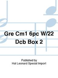 Gre Cm1 6pc W/22 Dcb Box 2