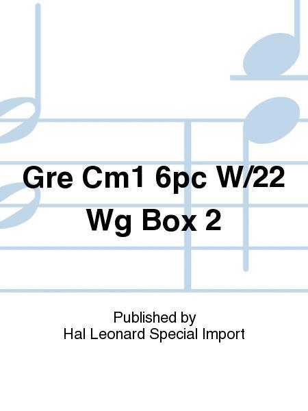 Gre Cm1 6pc W/22 Wg Box 2
