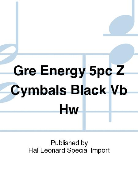 Gre Energy 5pc Z Cymbals Black Vb Hw