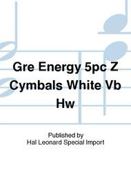 Gre Energy 5pc Z Cymbals White Vb Hw